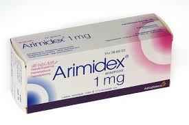 Box of Arimidex Medication.